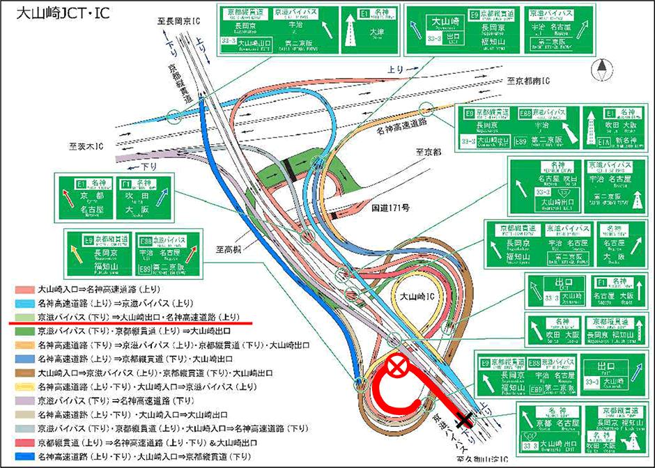 Jct 大山崎
